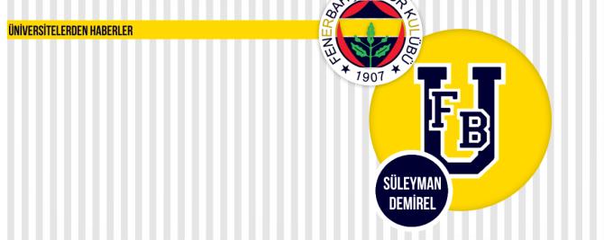 1907 ÜNİFEB Süleyman Demirel Üniversitesi Yönetim Kurulu