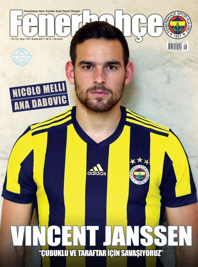 Fenerbahçe Dergisi Aralık Sayısı Çıkıyor